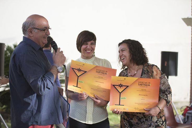 Premiazioni #cocktaildisartiglia #vernaccia #cocktailsartiglia16 - Retrò Lounge Bar