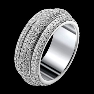 White gold #Diamond #Ring G34PU400 - Piaget Luxury Jewelry Online