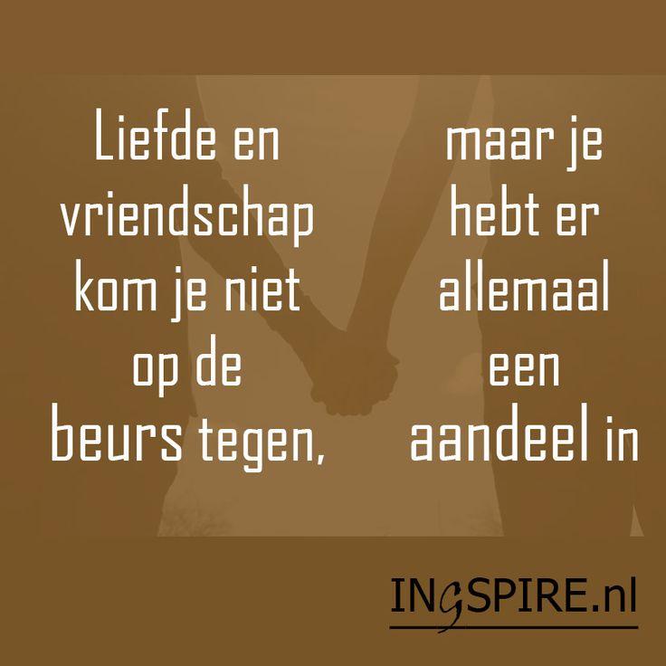 Ingezonden spreuk van Syl! Ontdek nog meer Nederlandse quotes over vriendschap. Deze selectie van leuke citaten en wijze woorden over vriendschap enliefdeinspireren de geest, het hart en zorgen voor een moment van dankbaarheid en inzicht. Kortom een bijzondere verzameling mooie woorden voor jezelf en voor anderen om te delen. Heeft iemand jou weleens geraakt en …