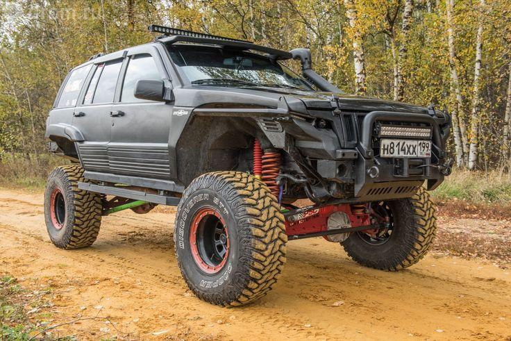 Тюнинг Jeep Grand CherokeeZJ. Позаконам Baja1000
