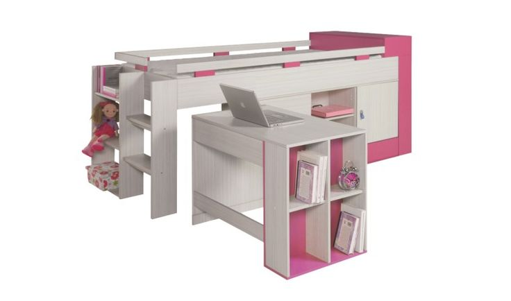 les 25 meilleures id es concernant lit mi haut sur pinterest bureau alinea organisation de. Black Bedroom Furniture Sets. Home Design Ideas