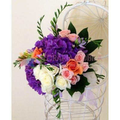 hortensia bouquet / buchet hortensie