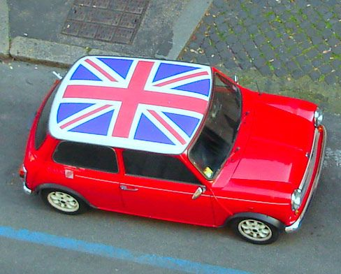 union jack mini cooper classic mini cooper pinterest. Black Bedroom Furniture Sets. Home Design Ideas