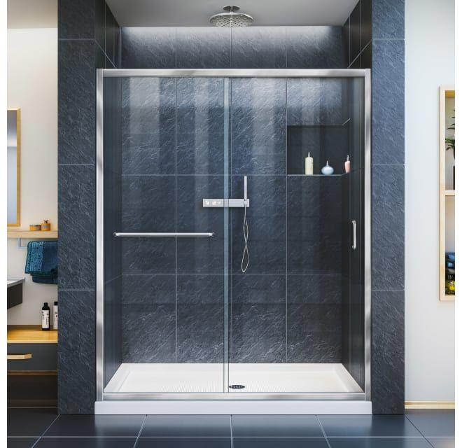 Dreamline Shdr 0960720 04 Infinity Z 56 60 W X Build Com In 2021 Frameless Sliding Shower Doors Shower Doors Sliding Shower Door 60 x 72 shower door