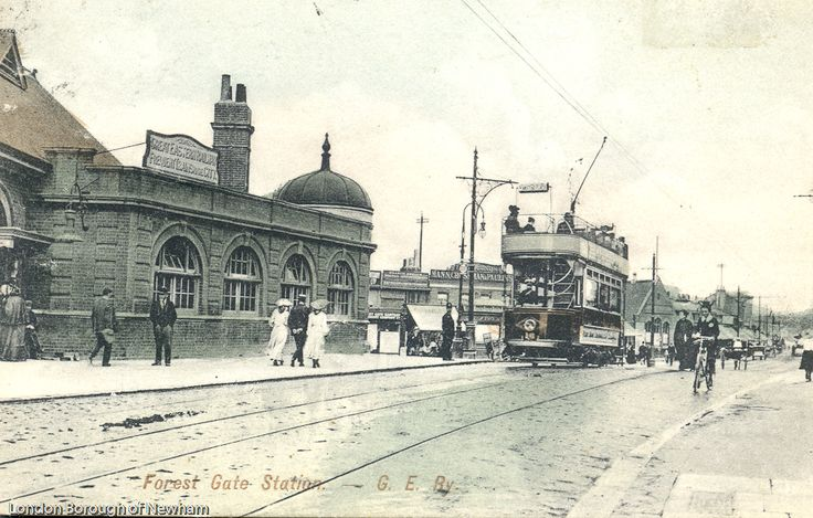 Forest Gate Station 1904