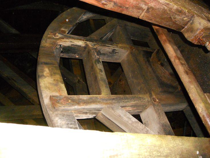 Rammelsberg- fragment konstrukcji drewnianej