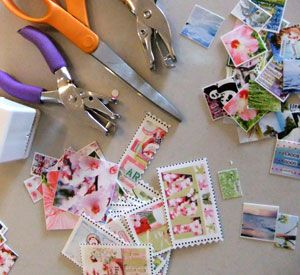ARTchix Studio: Inspiration: Classroom: Shrinky Dink Photo Charms