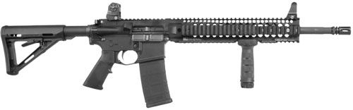 "Helotes Tactical Firearms | Daniel Defense M4 Carb V4 SA .223 Rem 16"" 30+1 Magpul MOE Stk Black"