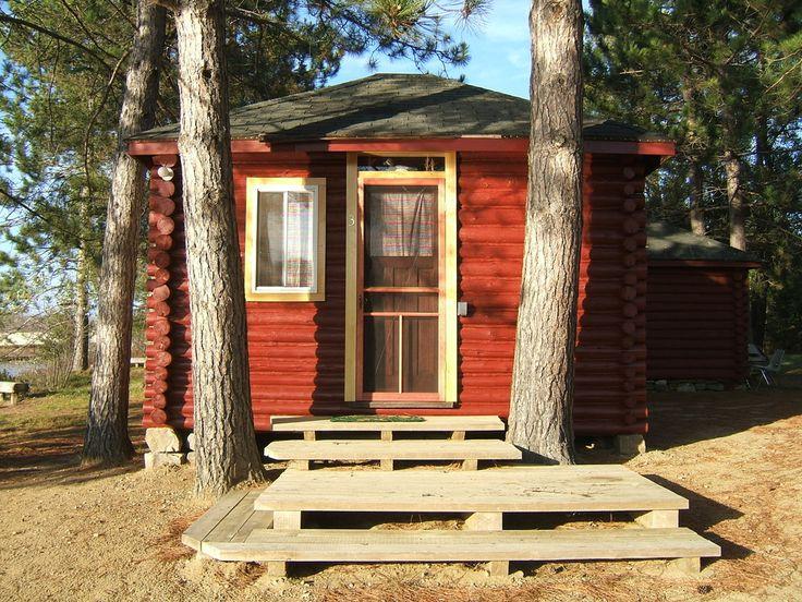 Red Deer Lodge & Campground, Red Deer Log Cabin Rentals, Madawaska, Ontario