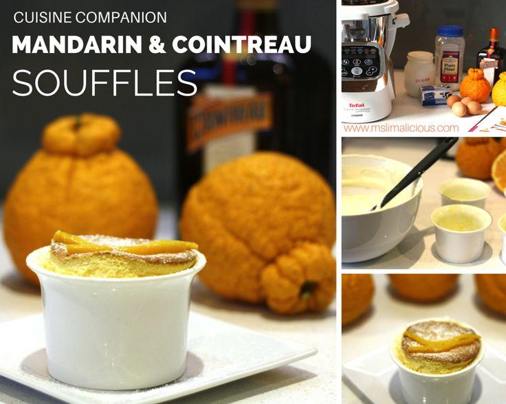 Mandarin and Cointreau Souffles made with Tefal Cuisine Companion