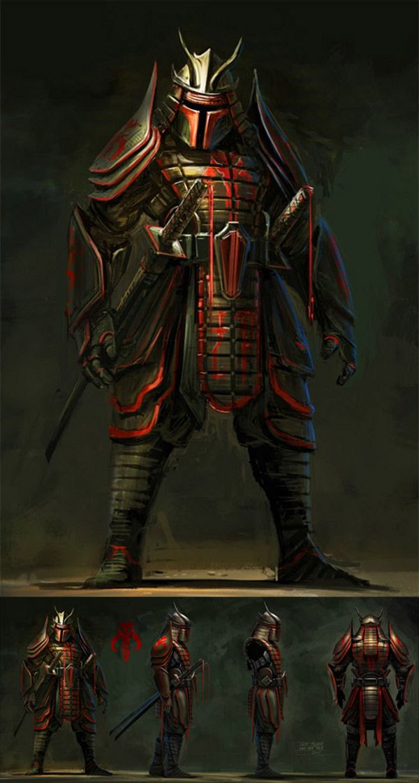 Boba Fett Samurai.