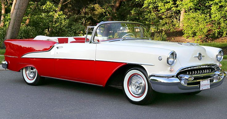1955 Oldsmobile Tremendous Eighty-Eight Convertible – 98,000 mile automobile