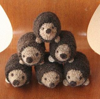 Little Oddment Hedgehog pattern by Julie Williams