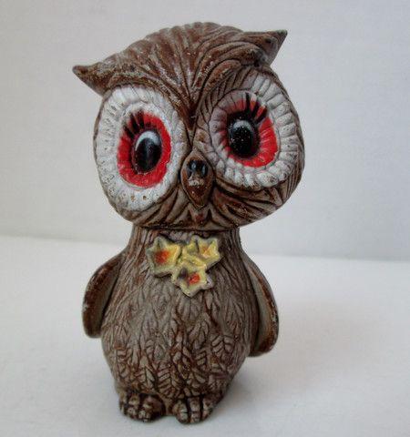 Vintage Owl Single Salt and Pepper Shaker Brown Plastic – Vintage Virtue