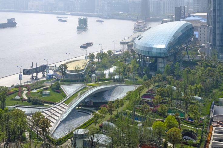 Shanghai Terminal / Frank Repas Architecture