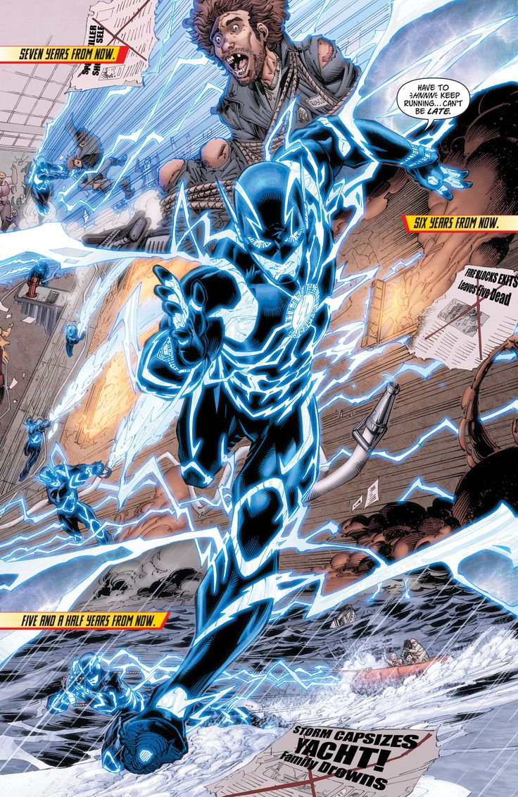 The Blue Flash new 52