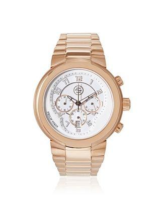 50% OFF Philip Stein Unisex 32-ARGW-RGSS Rose Gold Plated/White Boyfriend Watch