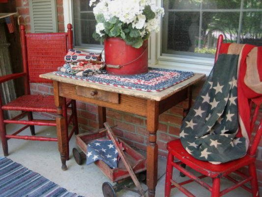 Old Thyme Americana Porch...