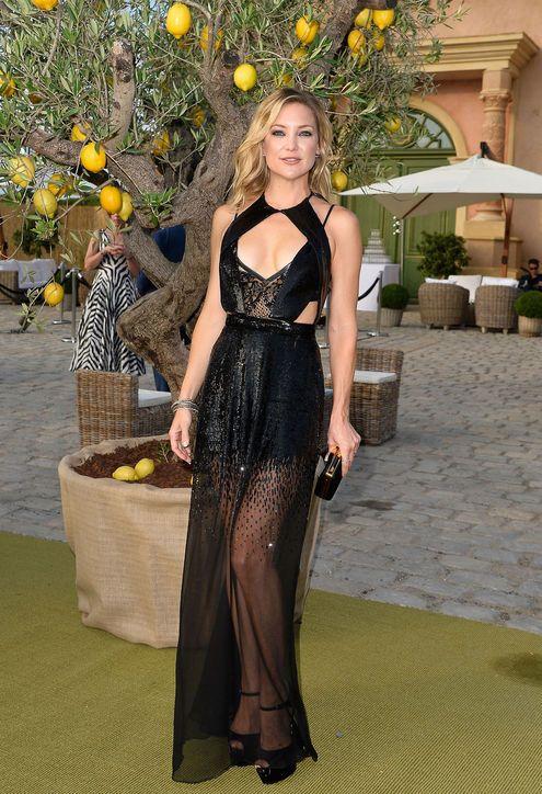 Leonardo DiCaprio Foundation Gala 2015: Kate Hudson, Naomi Campbell, and Others: Glamour.com