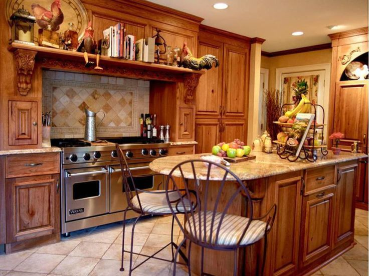 Design The Italian Kitchen Decor Ideas With This Practical Layout