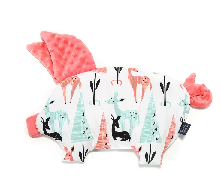 Sleepy Pig White Bambi μαξιλάρι για νεογέννητα