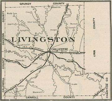 Rural Southeast Livingston Co., MO--Home of my GGparents Guy Snyder and Dora Electa Gates Snyder, GGGparents James Darwin Snyder and Delia Corning Snyder, GGGrandpa Charles Crook Gates