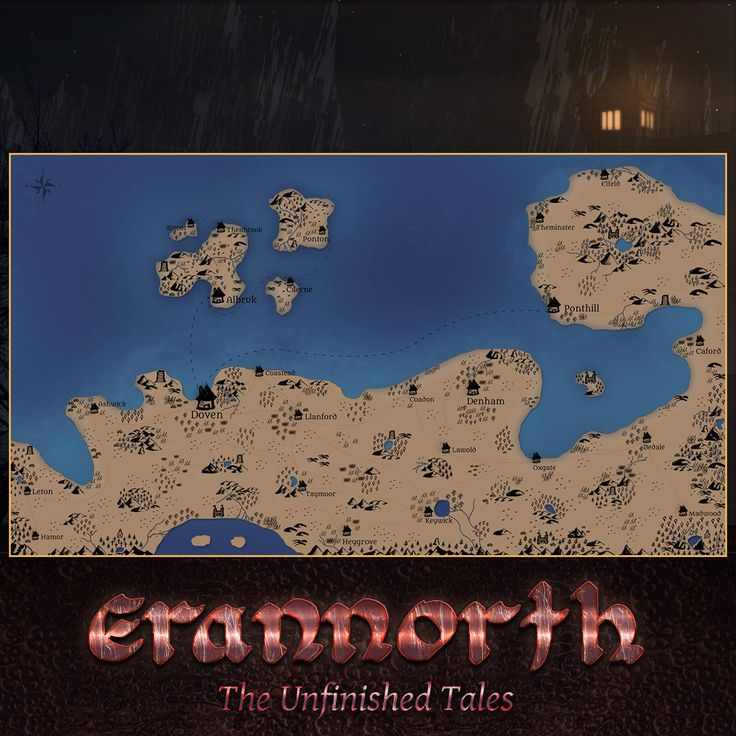 Last week on Erannorth: The Unfinished Tales
