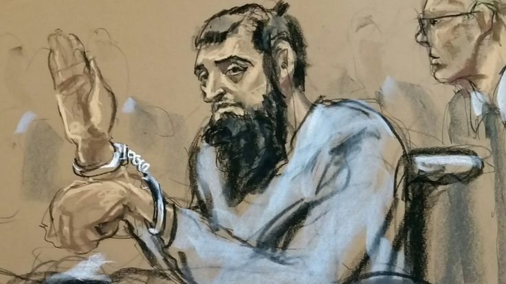 """New York truck attack: Trump urges death penalty for Sayfullo Saipov https://tmbw.news/new-york-truck-attack-trump-urges-death-penalty-for-sayfullo-saipov  Media playback is unsupported on your deviceUS President Donald Trump has repeated calls for the suspect in the New York truck attack to get the death penalty.But Mr Trump backed away from his call a day earlier to send Sayfullo Saipov to Guantanamo Bay, saying """"that process takes much longer"""".The suspect told police he """"felt good"""" about…"""