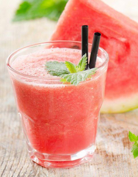BEST WAY TO MAKE WATERMELON SMOOTHIE #watermelonsmoothie #fruit #smoothie