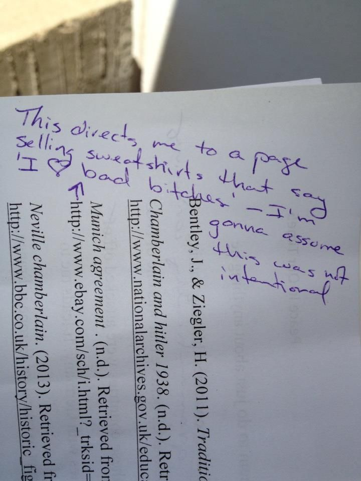 Where to put citations at in a final term paper ? (College)?