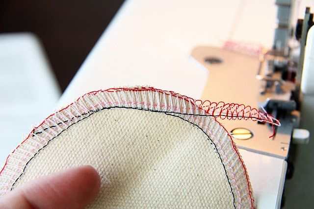 Tips when using a Serger.