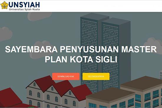 Sayembara Penyusunan Master Plan Kota Sigli 2016 ~ Teknologi Konstruksi Arsitektur
