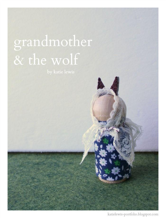 Grandmother & the Wolf | katie lewis portfolio