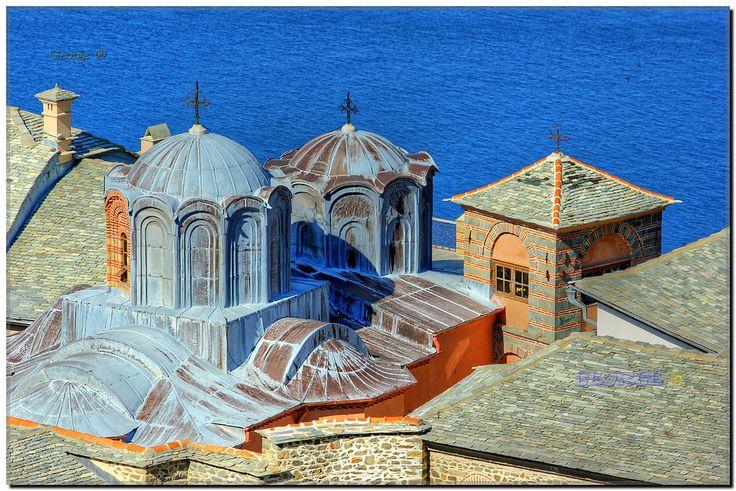 https://flic.kr/p/FLsyAC   Άγιο Όρος Ιερά Μονή Σίμωνος Πέτρας - Mount Athos Holy Monastery of Simon Petra - George @ 41   #Monastery #Holy #Mount #Mt #Athos #Simonos #Simon #Petra #Simonopetra #Άγιο #Όρος #Ιερά #Μονή #Σίμωνος #Πέτρας #Καμπάνα # Church #domes #Monks #Tower #Σταυρός  #θρησκεία #travel #religion #solitude #prayer #sanctified #Candle #Saint #Chapel #Icons #Miracle #faith #Cross #Εκκλησία #Εκκλησάκι #Άγιος #θαύμα #προσευχή #light #Hand #mountain #blessing  #bell #καμπαναριό…