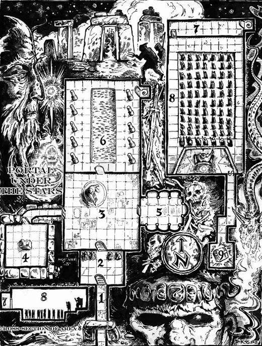 Dungeon Crawl Classics rpg – test et projet futur