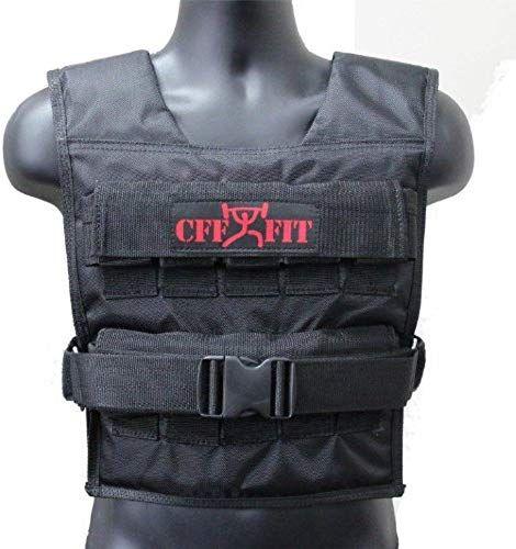 Best Seller CFF Adjustable Weighted Vest 20 kg/44 lbs