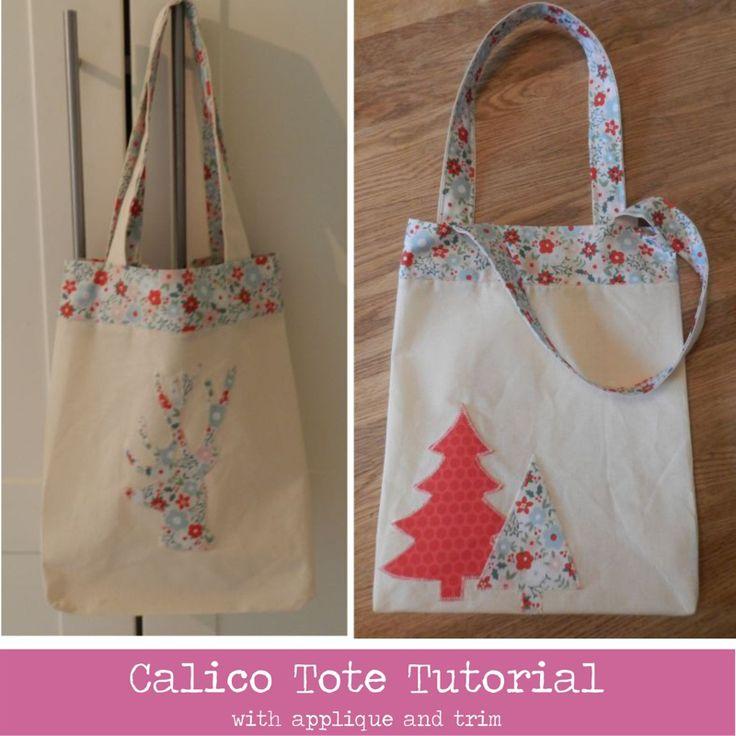 calico bag tutorial