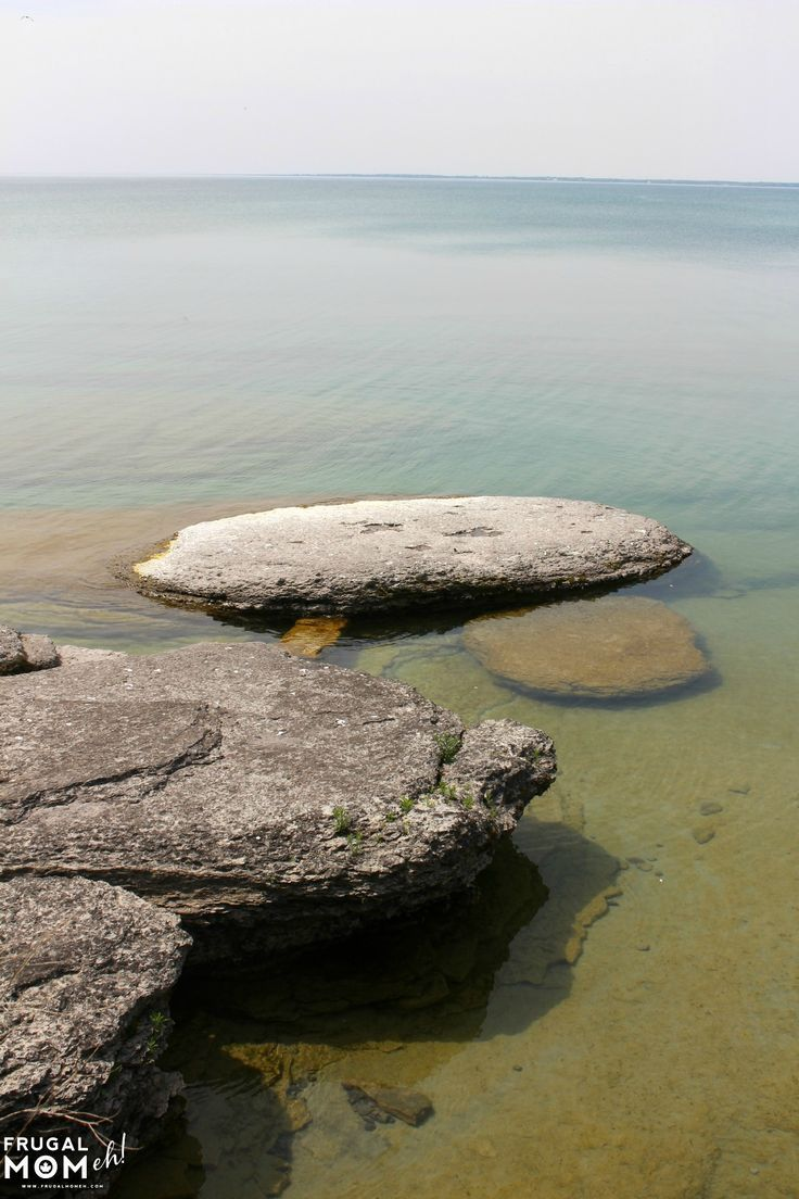 The shore just off of Sandbanks Beach in Prince Edward County, Ontario - One of Canada's Top Travel Destinations!