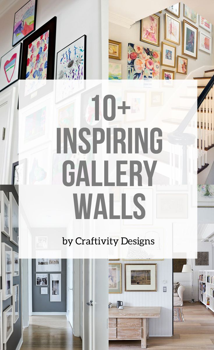 Gallery Wall Inspiration Kick Off Friday