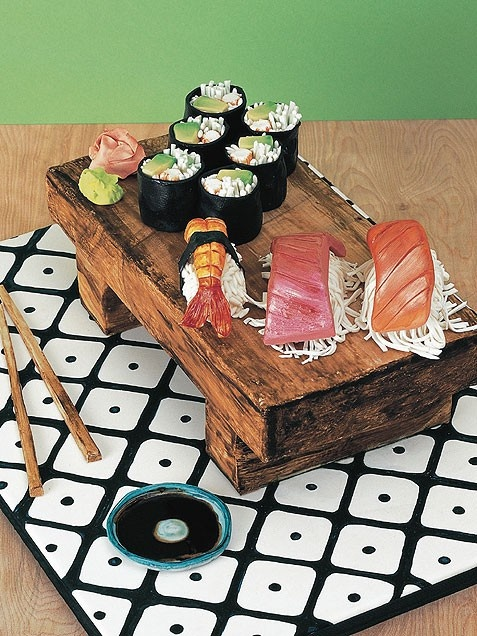 sushi cake! Would have been perfect for Kevin