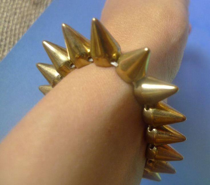 Vintage Jewelry Fashion Bijoux bijouterie BRACELET prickles thoms calks
