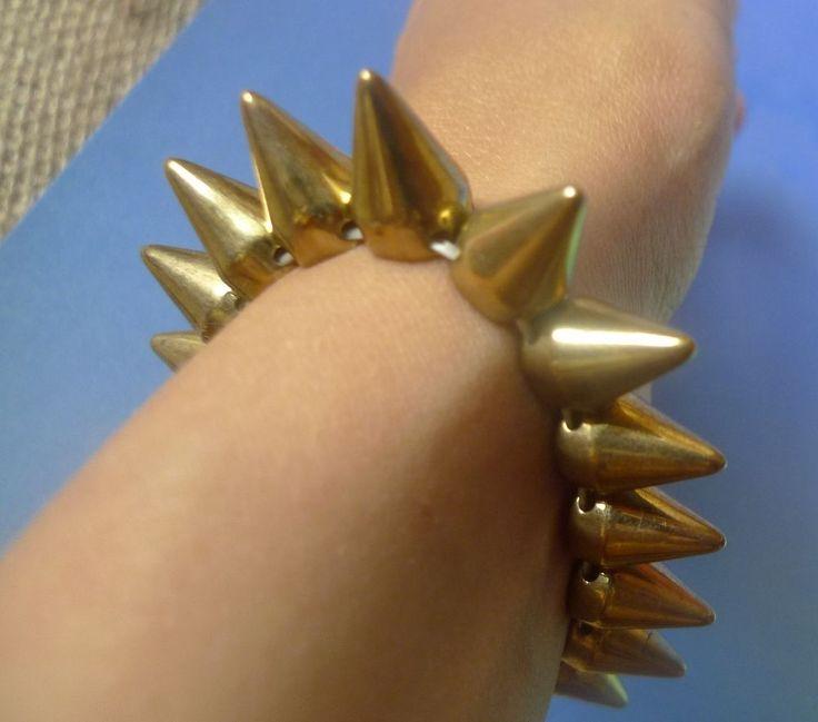 Vintage Jewelry Fashion Bijoux bijouterie BRACELET prickles thoms calks