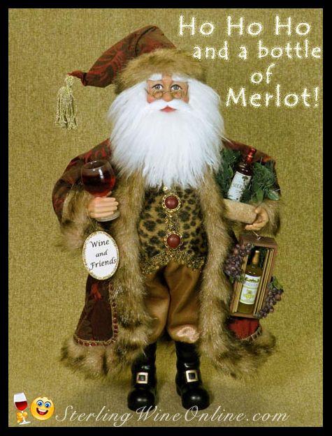 Ho Ho Ho and a bottle of Merlot!