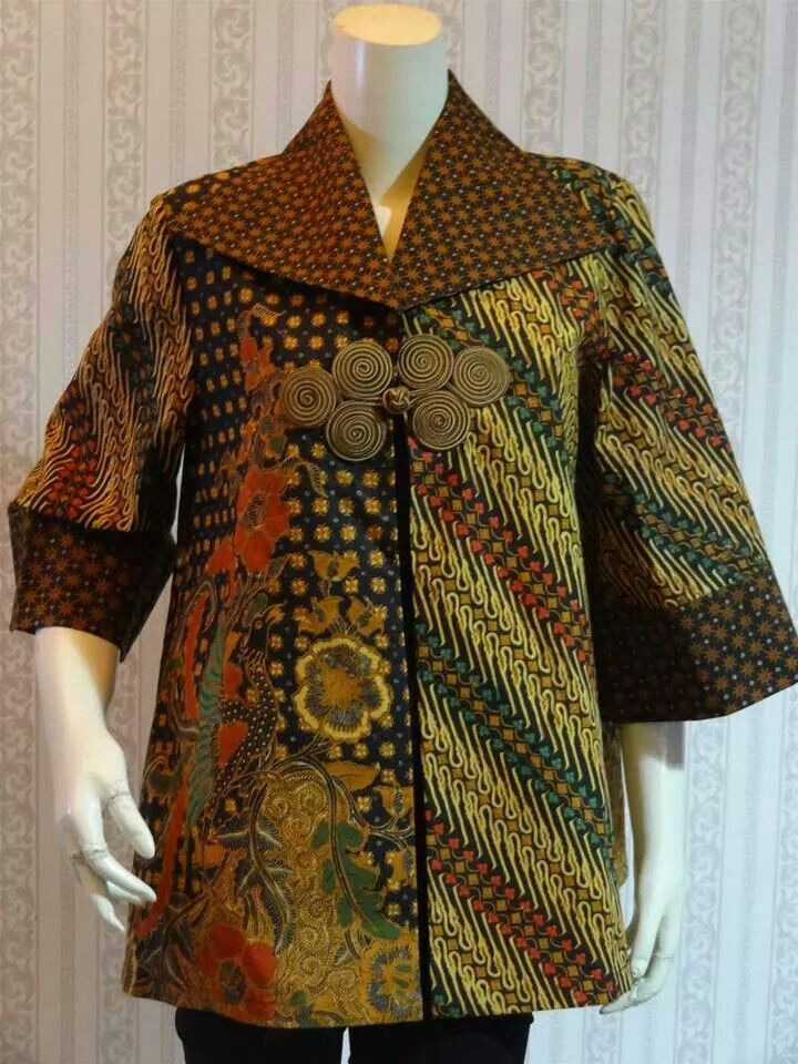 Best 25 Gaun batik modern ideas on Pinterest  Modern batik dress