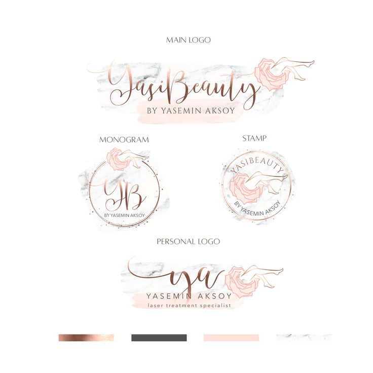 YasiBeauty Logo and Branding
