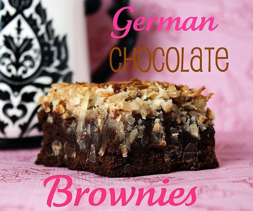 Lots of yummy recipes here...  German Chocolate Brownies: Yummy Ideas, Brownies Omgmi, Favorite Cakes, Brownies Recipes, Yummy Recipes, German Chocolates Brownies, German Chocolate Brownies, Brownies Foodanddrink, Yummy Stuff