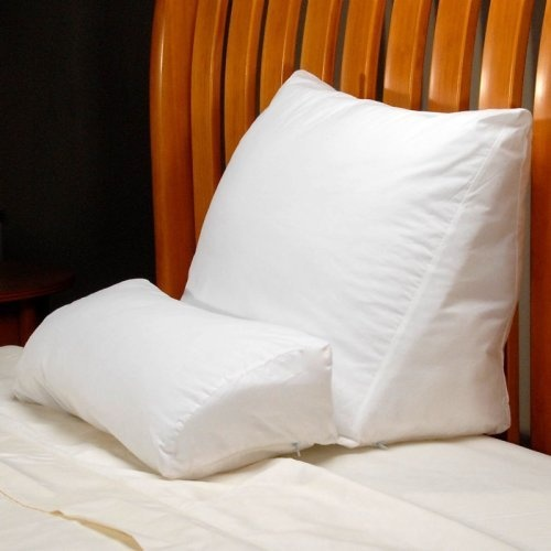 Contour 4 Flip Bed Wedge Pillow, $40.00. This would be great for reading in bed.