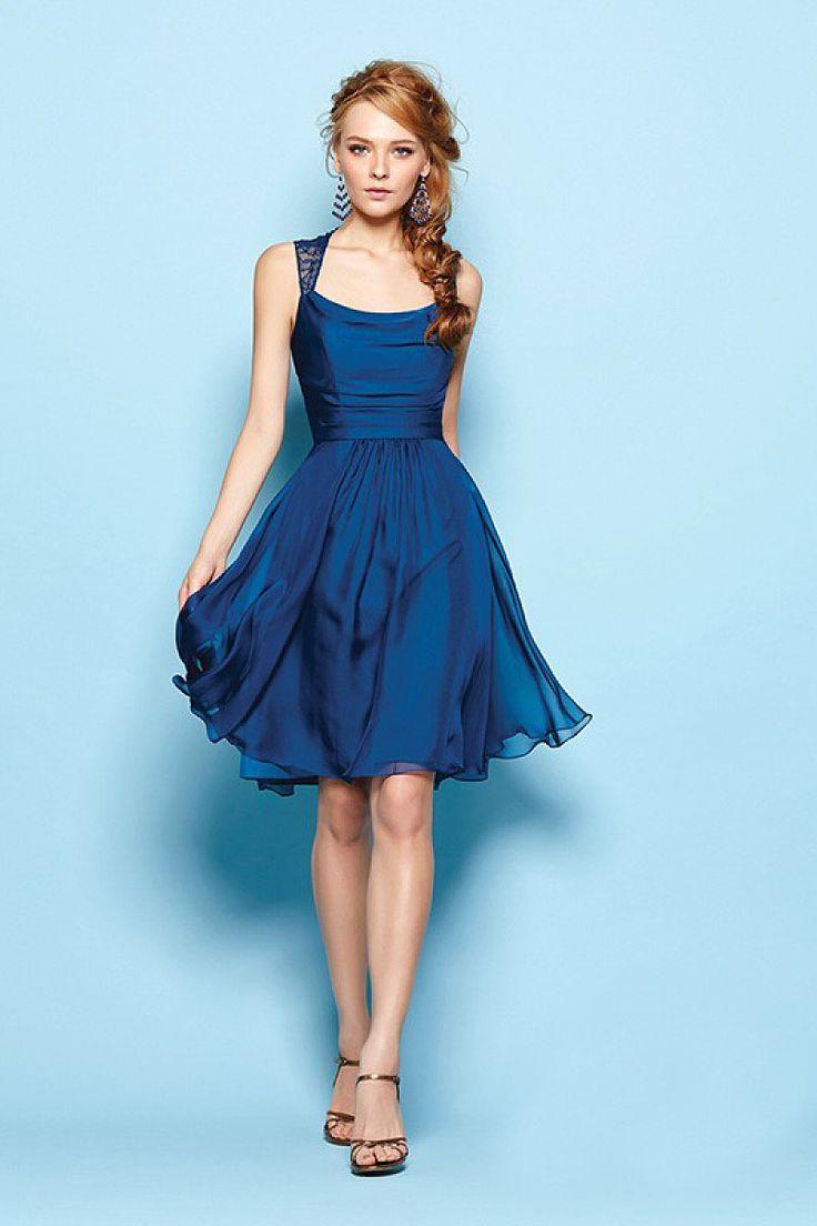 25  best ideas about Blue cocktail dress on Pinterest | Navy ...