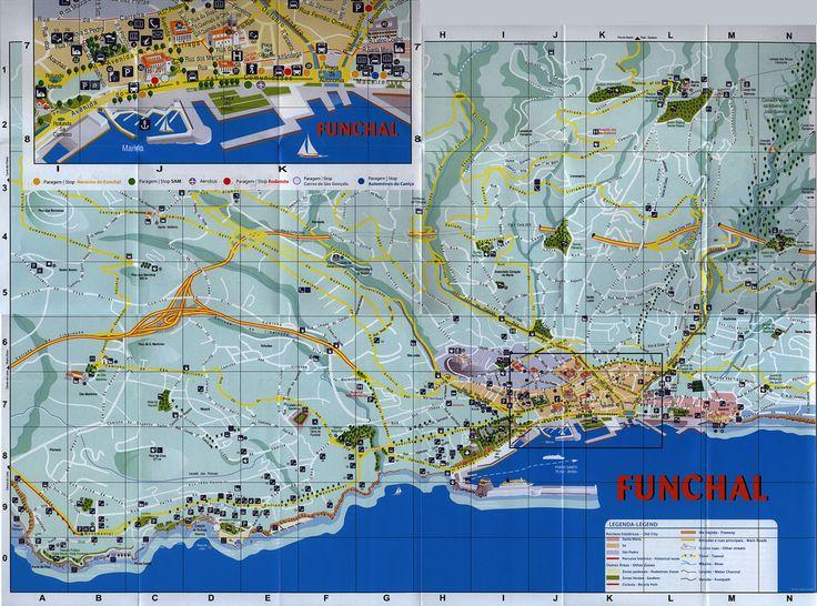 madeira mapa map carte karte; 2012_3, Portugal overseas territory; tourism travel brochure | by worldtravellib World Travel library