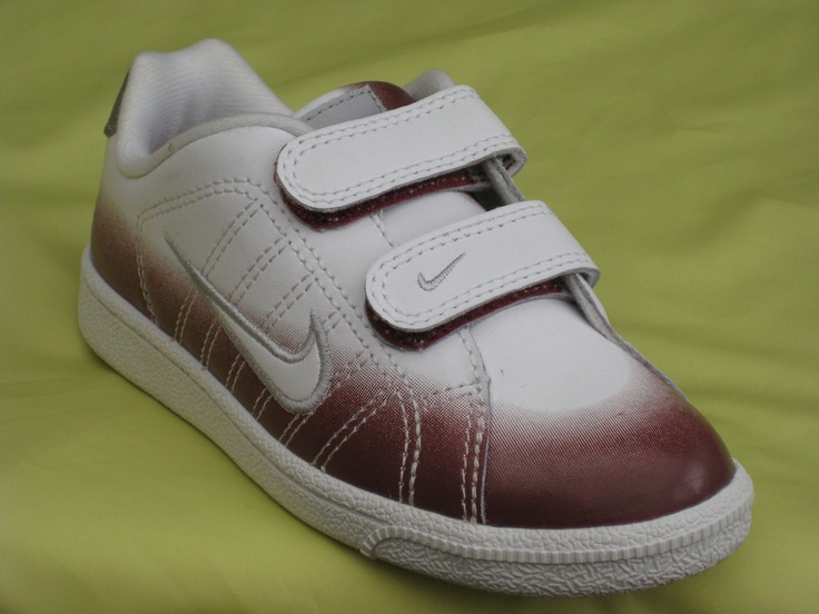 BOYS JUNIOR CHILDRENS WHITE LEATHER NIKE COURT TRADITION SHOES TRAINERS SIZ 13.5 | eBay